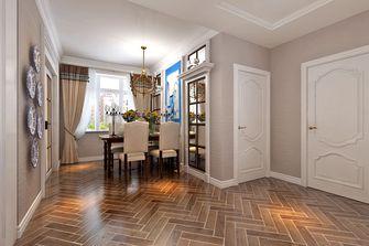 富裕型90平米三室两厅田园风格餐厅图