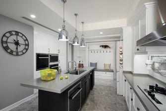 100平米美式风格厨房效果图