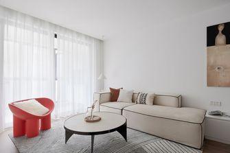 3-5万80平米现代简约风格客厅装修案例