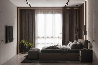 富裕型80平米三室两厅现代简约风格卧室装修图片大全
