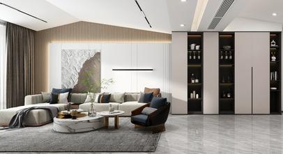 120平米四现代简约风格客厅设计图
