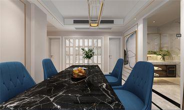 100平米三室两厅轻奢风格餐厅装修案例
