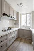 经济型120平米三室两厅美式风格厨房图