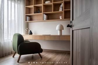 3万以下120平米四室两厅日式风格书房图
