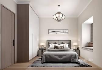 5-10万70平米公寓中式风格卧室设计图
