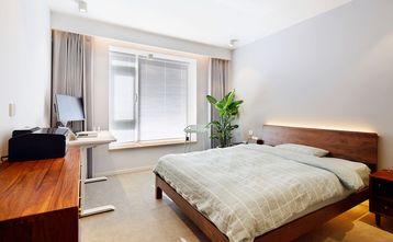 60平米现代简约风格卧室设计图
