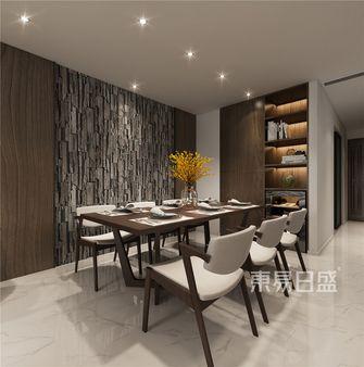 140平米复式港式风格餐厅图片