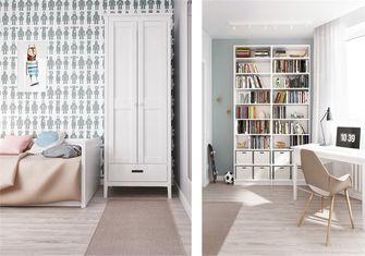 豪华型90平米三室一厅北欧风格青少年房图片