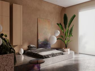 经济型80平米混搭风格卧室装修案例
