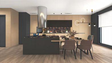 140平米一室两厅现代简约风格餐厅装修效果图