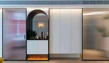 20万以上120平米四混搭风格客厅装修案例