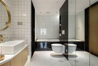90平米三室两厅北欧风格卫生间设计图