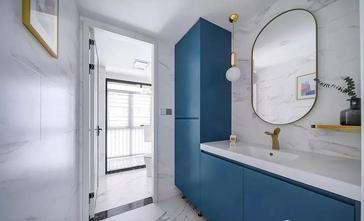 富裕型140平米四室两厅法式风格卫生间装修案例