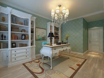 100平米三室两厅欧式风格书房图片大全