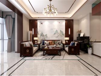 20万以上140平米四室两厅中式风格客厅图片