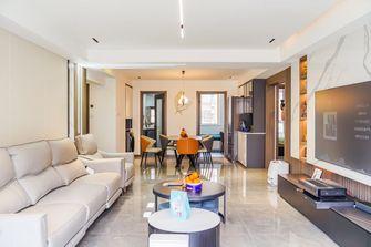 富裕型60平米轻奢风格客厅欣赏图