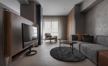70平米一居室现代简约风格客厅图片大全