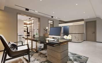 20万以上140平米四室三厅现代简约风格书房设计图