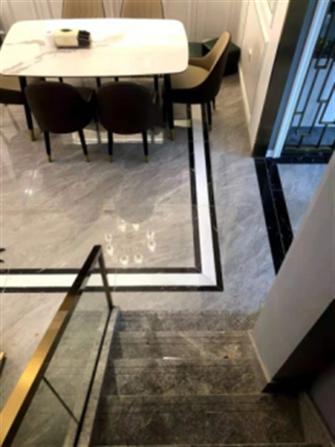 140平米复式轻奢风格楼梯间装修案例