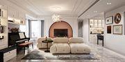 140平米四室一厅法式风格客厅图