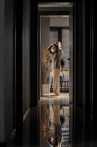 130平米三室两厅轻奢风格走廊装修图片大全
