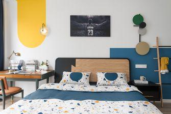80平米三现代简约风格卧室设计图