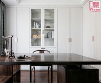 90平米三室两厅中式风格书房设计图