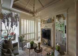 富裕型80平米公寓新古典风格客厅效果图