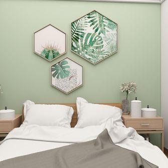 富裕型50平米现代简约风格卧室图