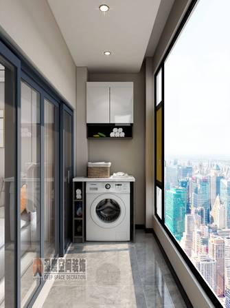 3-5万80平米三室两厅现代简约风格阳台设计图