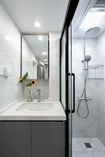 10-15万50平米现代简约风格卫生间装修案例