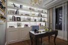 富裕型80平米三室两厅法式风格书房装修案例