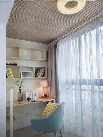 经济型90平米三室两厅北欧风格阳台装修图片大全