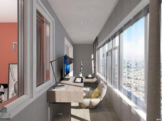 经济型50平米公寓轻奢风格阳台图