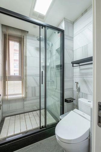 5-10万140平米三室两厅现代简约风格卫生间图