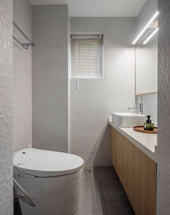 经济型120平米三室两厅日式风格卫生间图