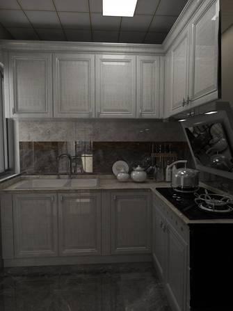 经济型80平米三室两厅欧式风格厨房图片
