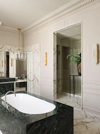 5-10万130平米三室两厅法式风格卫生间设计图