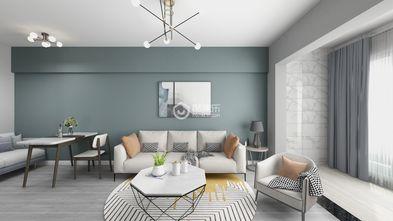 60平米一室两厅田园风格餐厅设计图