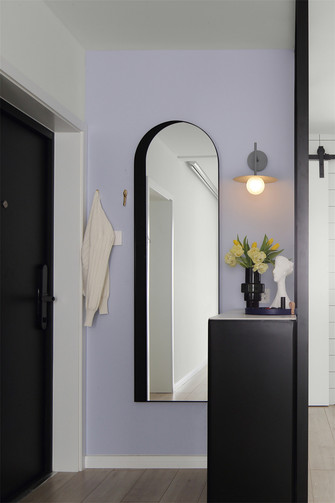 70平米一室一厅现代简约风格玄关装修图片大全