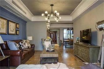 15-20万110平米三室三厅美式风格客厅装修图片大全