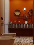 15-20万120平米三室两厅新古典风格卫生间装修效果图