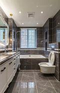 富裕型140平米三室两厅欧式风格卫生间图片大全