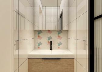 5-10万50平米一室两厅日式风格卫生间图
