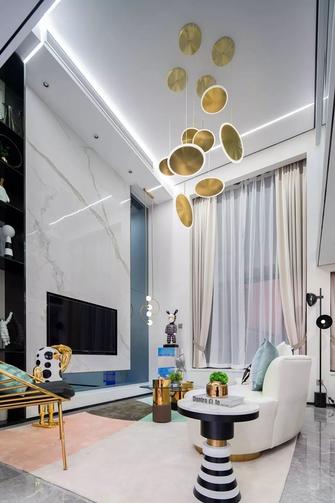经济型70平米轻奢风格客厅欣赏图