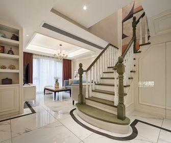 20万以上130平米复式美式风格楼梯间效果图