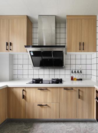 富裕型120平米四室两厅日式风格厨房图片