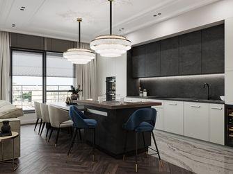 富裕型90平米现代简约风格餐厅装修效果图