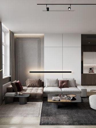 20万以上120平米三室两厅北欧风格客厅设计图