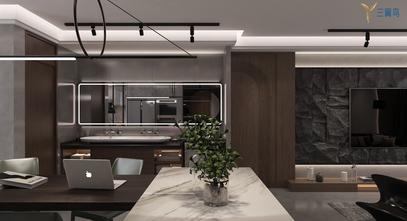 15-20万120平米一居室现代简约风格客厅装修图片大全